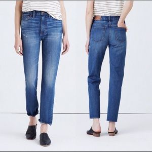Madewell the perfect vintage jean EMBROIDERED